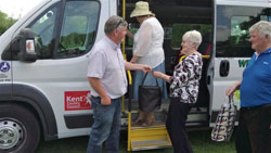 Wealden Wheels volunteers